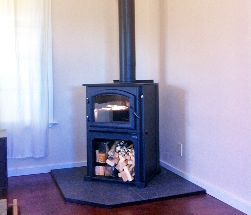 Home Projects Meadow Vista Quadra Fire Wood Stove