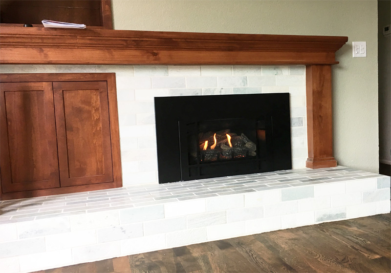 Home Projects - Wood Burning Fireplace to Gas Insert Conversion ...