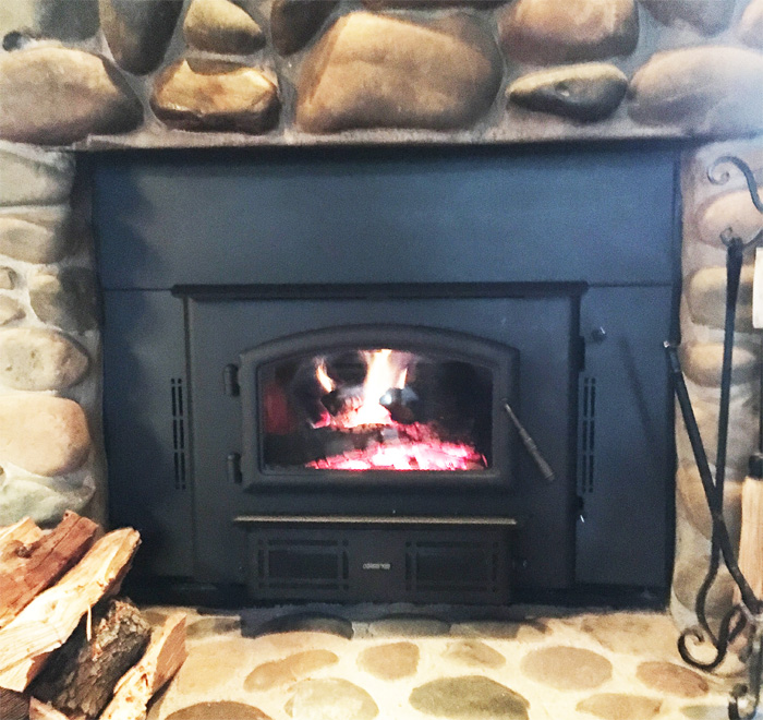 Home Projects Quadra Fire 2700 Wood Burning Fireplace