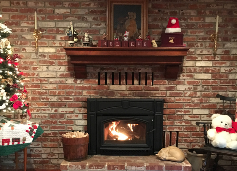 Quadra-Fire Voyager Wood Burning FIreplace Insert