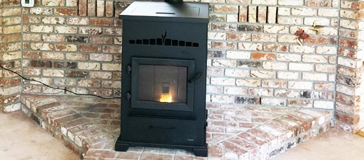 Heatilator Freestanding Pellet Stove