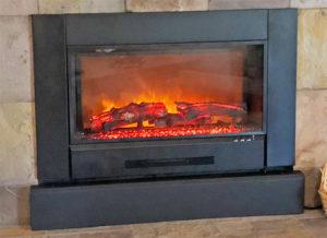 Modern Flame ZCR Series Fireplace Insert Closeup