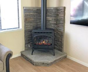 Quadra-Fire Topaz Gas Stove