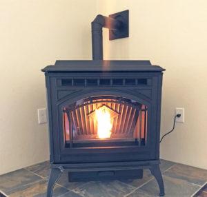 Quadra-Fire Trecker Series Pellet Stove Close-Up