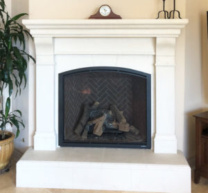 Heat & Glo TRUE series gas fireplace