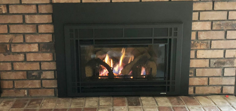 Quadra-Fire Natural Gas Fireplace Insert – Model QFI30