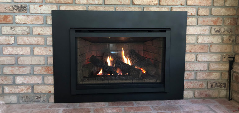 Quadra-Fire Excursion II Gas Fireplace Insert