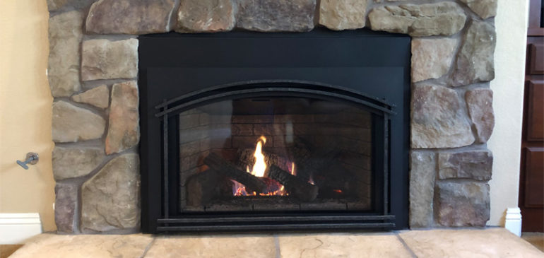 Quadra-Fire Excursion III Gas Fireplace Insert