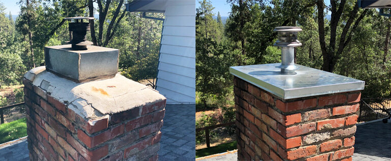 Chimney Top Repair