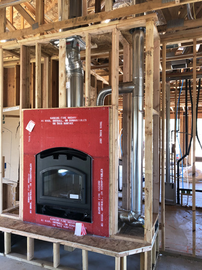 Quadra-Fire New Installation