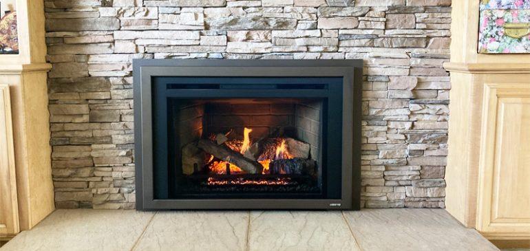 Quadra Fire QF30-FB Natural Gas Fireplace Insert
