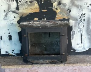 Tired Old Wood Stove